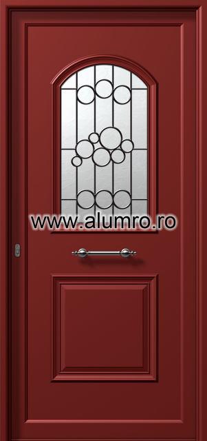 Usa din aluminiu pentru exterior - P6171 safe 4 ALUMINCO - Poza 24