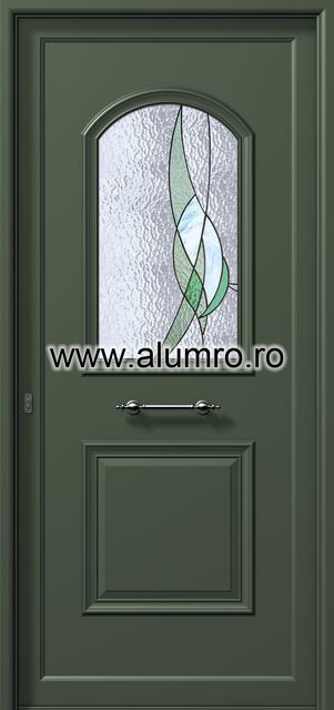 Usa din aluminiu pentru exterior - P6171 vitro 1 ALUMINCO - Poza 25
