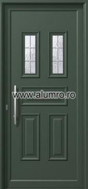Usa din aluminiu pentru exterior - P6182 kaiti inox ALUMINCO - Poza 26