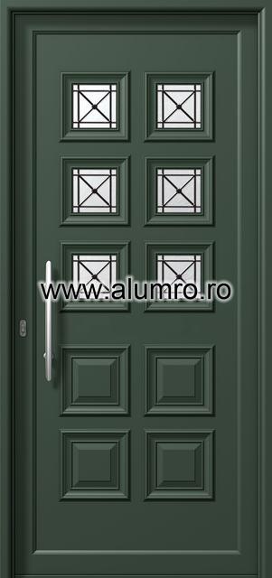 Usa din aluminiu pentru exterior - P6196 safe ALUMINCO - Poza 28
