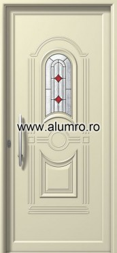 Usa din aluminiu pentru exterior - P6201 deco 1 ALUMINCO - Poza 29
