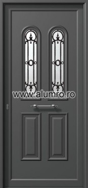 Usa din aluminiu pentru exterior - P6212 karavolo ALUMINCO - Poza 31