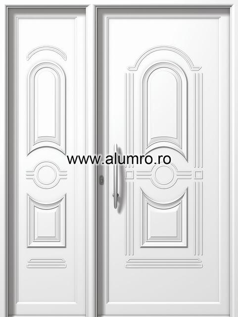 Usa din aluminiu pentru exterior - P6700-P6200 ALUMINCO - Poza 45
