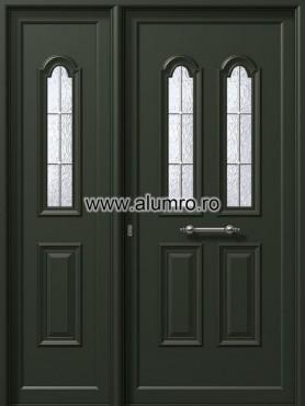 Usa din aluminiu pentru exterior - P6741-P6242 kaiti inox ALUMINCO - Poza 54