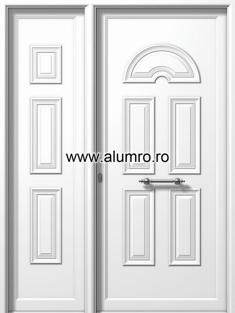 Usa din aluminiu pentru exterior - P6750-P6250 ALUMINCO - Poza 56
