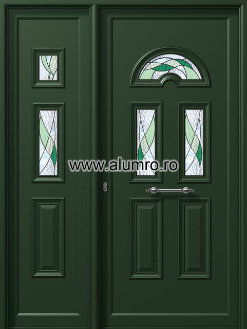 Usa din aluminiu pentru exterior - P6752-P6253 vitro 1 ALUMINCO - Poza 58