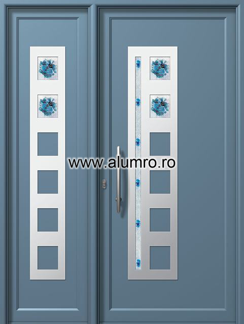 Usa din aluminiu pentru exterior INOX 300 - I315fu1-I303fu1 ALUMINCO - Poza 2
