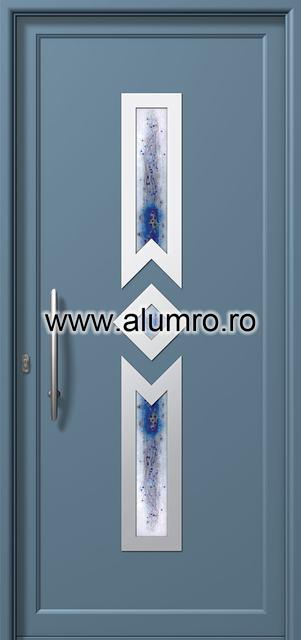 Usa din aluminiu pentru exterior INOX 300 - I323fu1 ALUMINCO - Poza 3