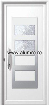 Usa din aluminiu pentru exterior INOX 300 - I327ca ALUMINCO - Poza 4