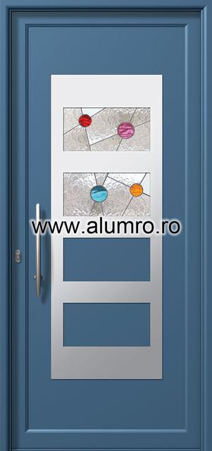 Usa din aluminiu pentru exterior INOX 300 - I327vi1 ALUMINCO - Poza 5