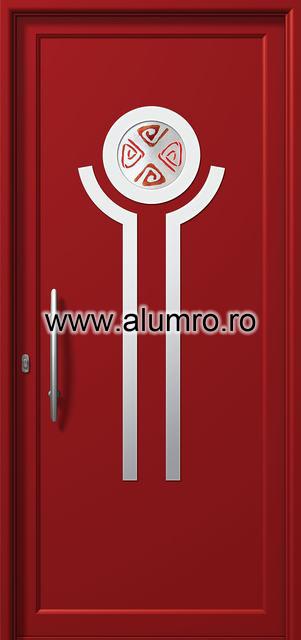 Usa din aluminiu pentru exterior INOX 300 - I331fu1 ALUMINCO - Poza 6