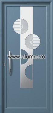 Usa din aluminiu pentru exterior INOX 300 - I334fu1 ALUMINCO - Poza 7