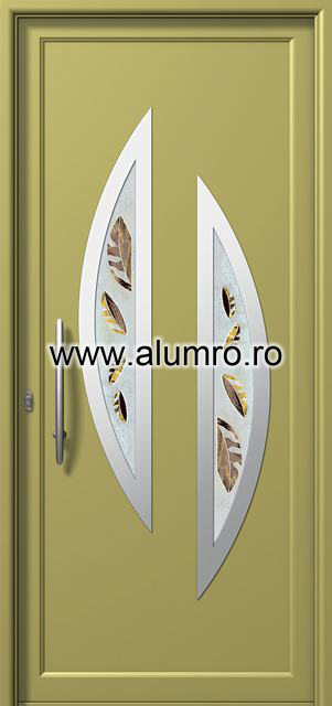 Usa din aluminiu pentru exterior INOX 300 - I342fu1 ALUMINCO - Poza 9