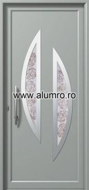 Usa din aluminiu pentru exterior INOX 300 - I342fu2 ALUMINCO - Poza 10