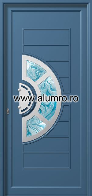 Usa din aluminiu pentru exterior INOX 300 - I346br1 ALUMINCO - Poza 11