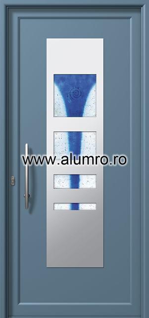 Usa din aluminiu pentru exterior INOX 300 - I354fu1 ALUMINCO - Poza 14