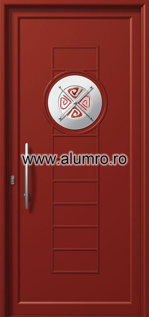 Usa din aluminiu pentru exterior INOX 300 - I373mfu1 ALUMINCO - Poza 17