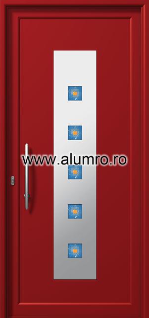 Usa din aluminiu pentru exterior INOX 300 - I376fu1 ALUMINCO - Poza 18