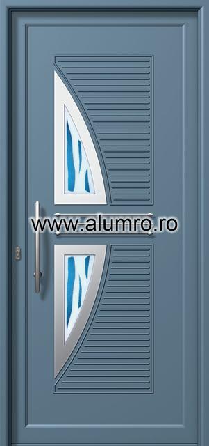 Usa din aluminiu pentru exterior INOX 300 - I382mfu1 ALUMINCO - Poza 19