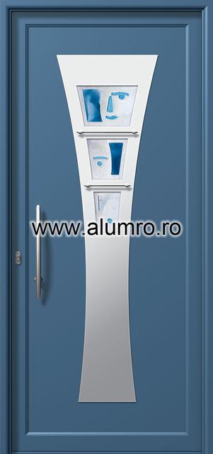 Usa din aluminiu pentru exterior INOX 300 - I395mfu1 ALUMINCO - Poza 21