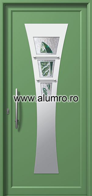 Usa din aluminiu pentru exterior INOX 300 - I395mfu2 ALUMINCO - Poza 22