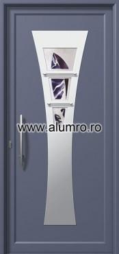 Usa din aluminiu pentru exterior INOX 300 - I395mfu3 ALUMINCO - Poza 23