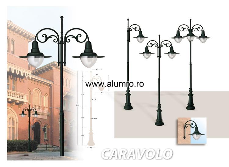 Stalpi de iluminat ALUMINCO - Poza 1