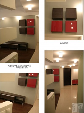 Lucrari, proiecte Amenajare apartament C - Bucuresti  - Poza 1