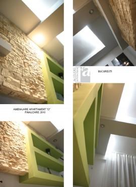 Lucrari, proiecte Amenajare apartament H - Bucuresti   - Poza 1