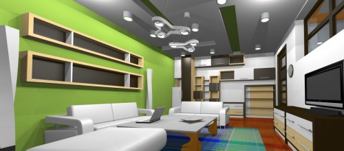 Lucrari, proiecte Amenajare casa E - Bucuresti  - Poza 8