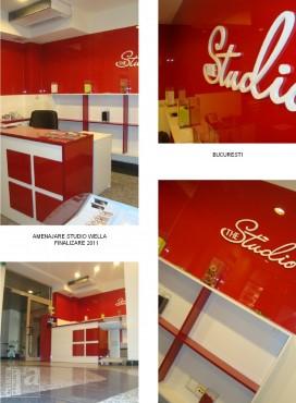 Lucrari, proiecte Amenajare Studio WELLA - Bucuresti  - Poza 4