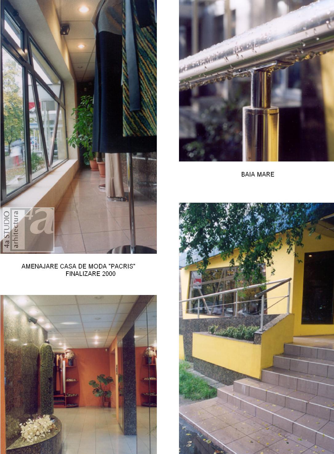 Amenajare casa de moda PACRIS - Baia Mare  - Poza 2