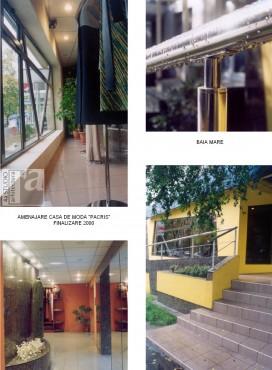 Lucrari, proiecte Amenajare casa de moda PACRIS - Baia Mare  - Poza 2
