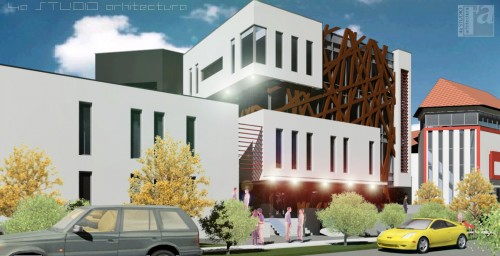 Lucrari, proiecte Extindere Clinica DENTART- Baia Mare  - Poza 2
