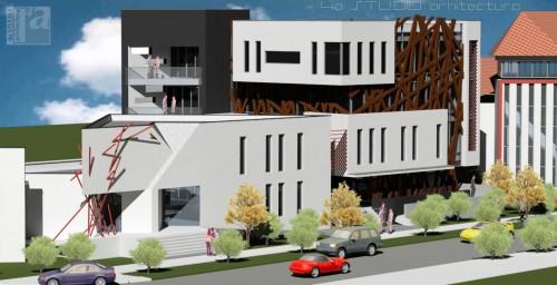 Lucrari, proiecte Extindere Clinica DENTART- Baia Mare  - Poza 4