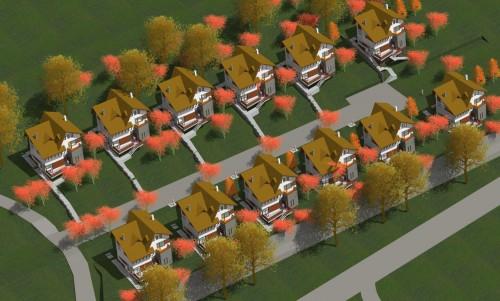 Lucrari, proiecte Ansamblu case de vacanta - Cheia  - Poza 1