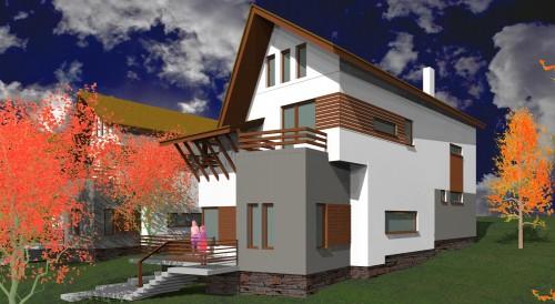 Lucrari, proiecte Ansamblu case de vacanta - Cheia  - Poza 5