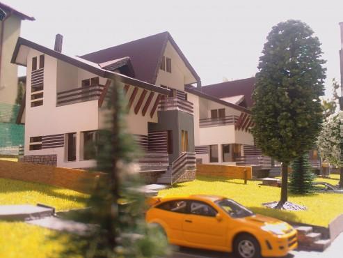 Lucrari, proiecte Ansamblu case de vacanta - Cheia  - Poza 6