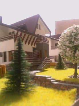 Lucrari, proiecte Ansamblu case de vacanta - Cheia  - Poza 9