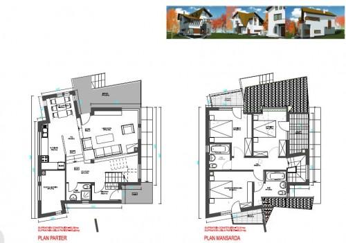 Lucrari, proiecte Ansamblu case de vacanta - Cheia  - Poza 11
