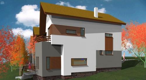 Lucrari, proiecte Ansamblu case de vacanta - Cheia  - Poza 12