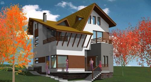 Lucrari, proiecte Ansamblu case de vacanta - Cheia  - Poza 13