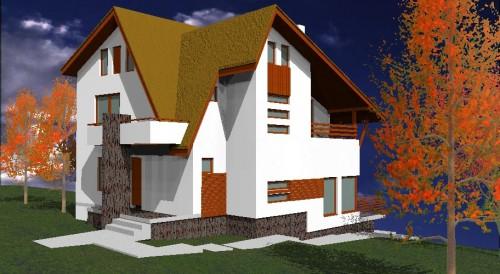 Lucrari, proiecte Ansamblu case de vacanta - Cheia  - Poza 14