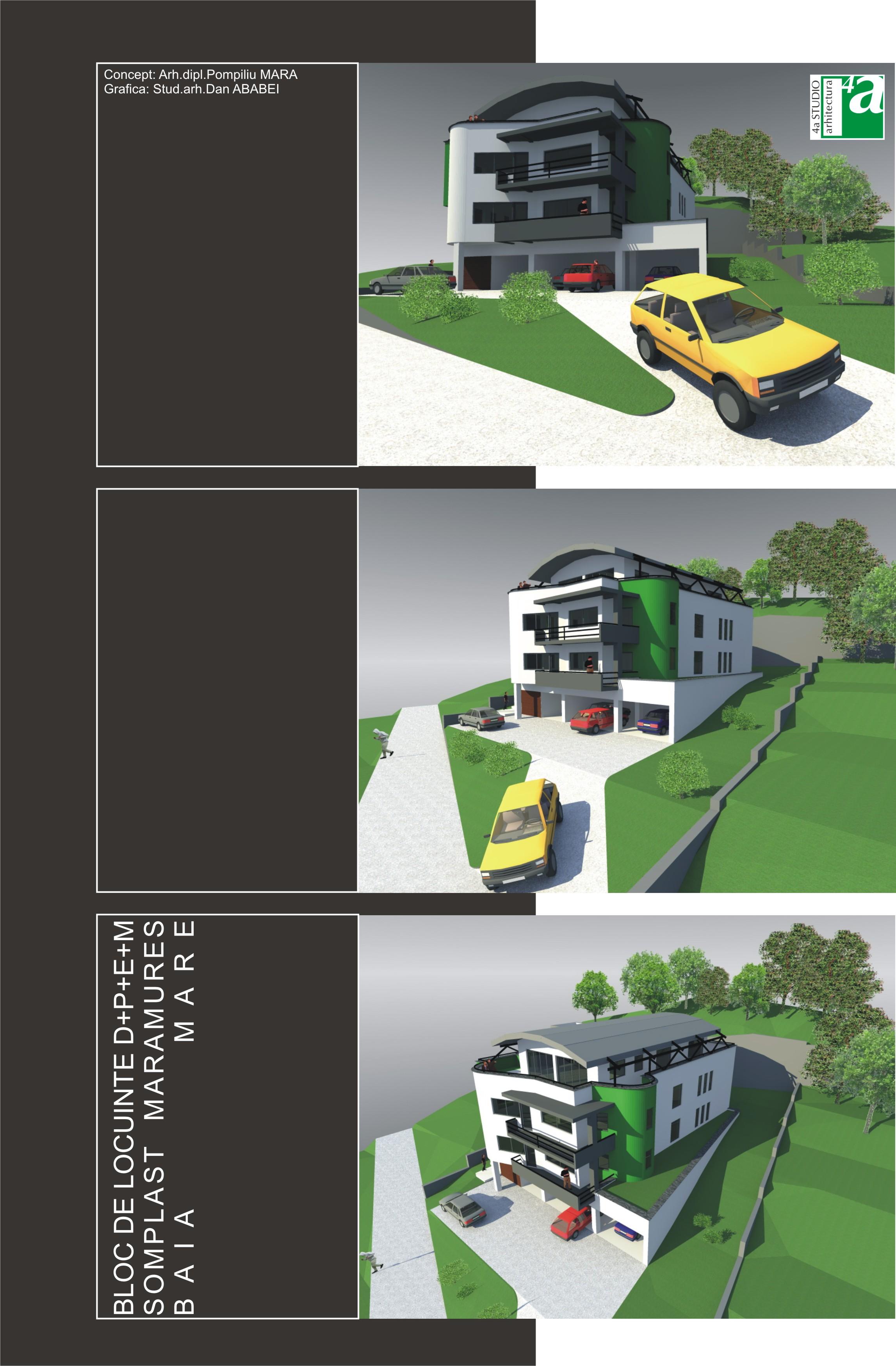 Bloc de locuinte - Baia Mare  - Poza 1