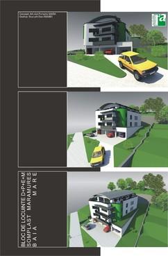 Lucrari, proiecte Bloc de locuinte - Baia Mare  - Poza 1