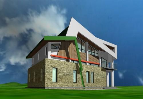 Lucrari, proiecte Casa de vacanta - Borlesti  - Poza 1