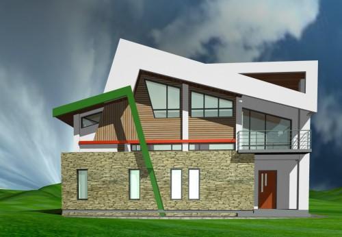 Lucrari, proiecte Casa de vacanta - Borlesti  - Poza 2