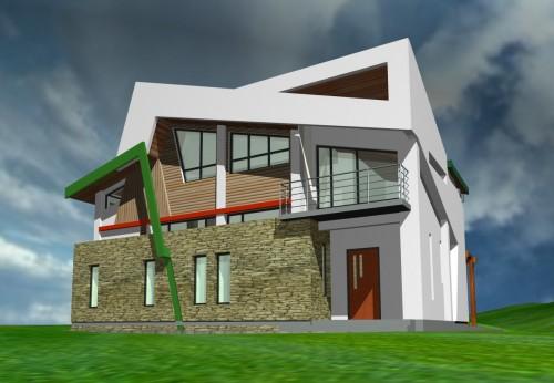 Lucrari, proiecte Casa de vacanta - Borlesti  - Poza 3