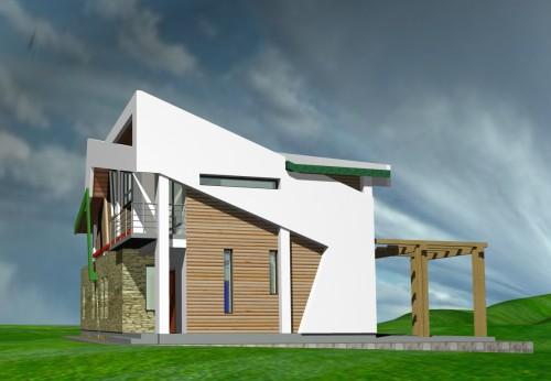 Lucrari, proiecte Casa de vacanta - Borlesti  - Poza 4