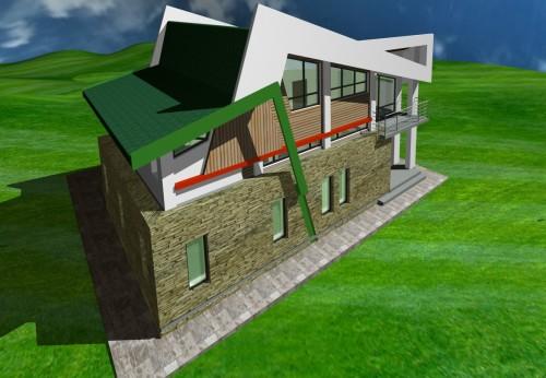 Lucrari, proiecte Casa de vacanta - Borlesti  - Poza 5